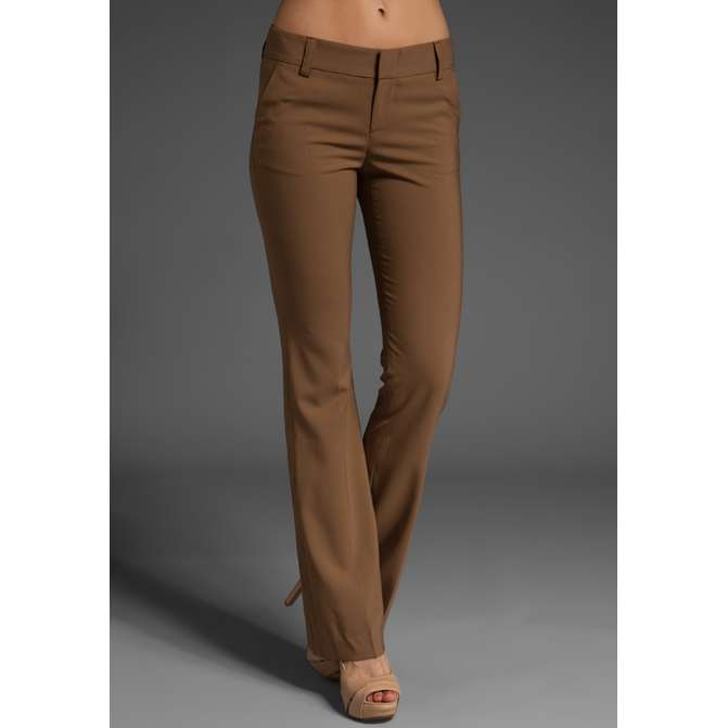 brown womens pants - Pi Pants